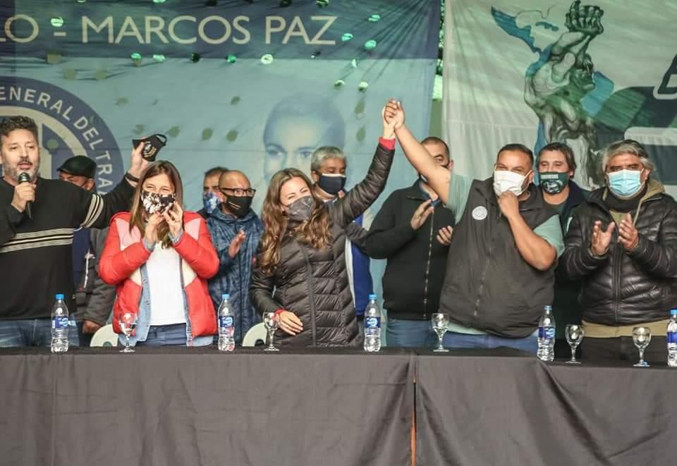 Maxi Velázquez, candidato del sindicalismo en Merlo